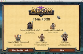 ADOM (Ancient Domains Of Mystery) Steam Gift EUROPE