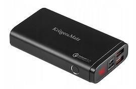 Power bank 10000mAh KrugerMatz USB-C Quick Charge