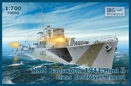 IBG Models 70004 1:700 HMS Badsworth 1941 Hunt II