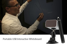 Portable USB Interactive Whiteboard (IR Pen-based)