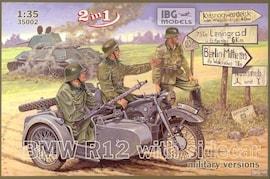 IBG Models 35002 1:35 BMW R12 w/sidecar military ver 2/1
