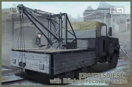 IBG Models 35006 1:35 Einheitsdiesel with Bilstein crane