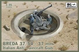 IBG Models 35009 1:35 Breda 37/54 37mm Italian AA gun