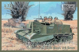 IBG Models 72026 1:35 Universal carrier with Boys 14,5mm