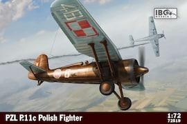 IBG Models 72519 1:72 PZL P.11c Polish Fighter Plane