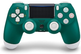 Newest PS4 Controller Dual Shock 4th Bluetooth Wireless Gamepad Joystick Remote Green White