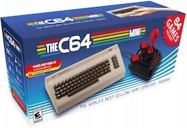 C64 Mini Commodore + Joystick + 64 Gry Wersja USA