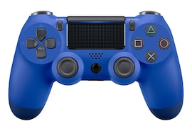 PS4 Controller Double Shock 4th Bluetooth Wireless Gamepad Joystick Remote  Blue
