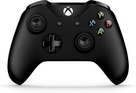 Xbox One Black Bluetooth Wireless Microsoft Controller with 3. 5mm Headset Jack