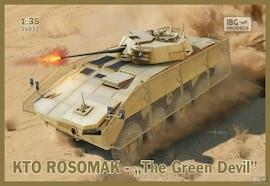 IBG Models 35032 1:35 KTO Rosomak Polish APC The Green Devil