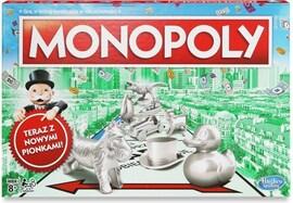 Hasbro Monopoly Klasyczne z nowymi pionkami (C1009)