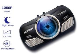 64GB Dash Cam Full HD1080P Car Camera DVR Dual Lens Night Vision 24H Parking Monitor Dashcam GPS