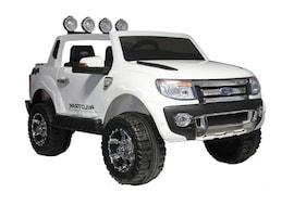 Hecht Ford Ranger White Samochód Terenowy Elektryczny Akumulatorowy Auto Jeździk Pojazd Zabawka