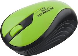 Mysz Bezprzewodowa Titanum Rainbow Tm114G Optyczna Zielona