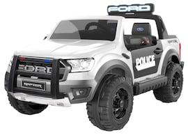 Hecht Ford Ranger Raptor Police Edition White Samochód Terenowy Elektryczny Akumulatorowy Auto Jeźdz
