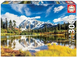 Educa Puzzle 3000 elementów Góra Shuksan, Waszyngton USA