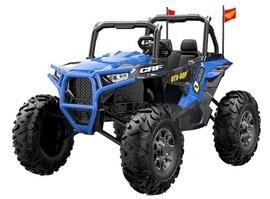 Hecht 55999 Blue Samochód Terenowy Elektryczny Akumulatorowy Auto Jeździk Pojazd Zabawka Dla Dzieci