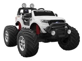 Hecht Ford Ranger Monster Truck White Samochód Terenowy Elektryczny Akumulatorowy Auto Jeździk Pojaz