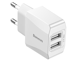 Baseus Szybka Ładowarka 2 Porty USB