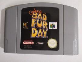 Conker's Bad Fur Day Video Game Cartridge Console Card for Nintendo N64 EU PAL Version English Language Gaming