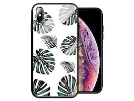 Etui Alogy Glass Armor Case do Apple iPhone XS Max Liście