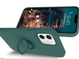Etui silikonowe Ring Ultra Slim Alogy do iPhone 12 Mini 5.4 Zielone