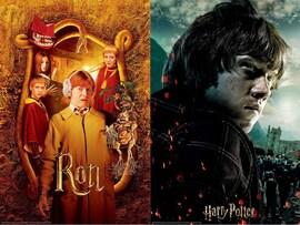 Harry Potter: Magiczne puzzle-zdrapka - Ron (150 elementów)