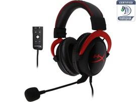 HyperX Cloud II 7 1 Pro Gaming Headset Red