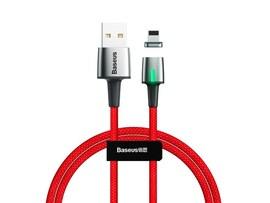 Kabel magnetyczny Lightning Baseus 3A 1m czerwony