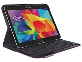 Klawiatura Logitech Ultrathin Folio do Samsung Galaxy Tab 4 Fioletowa | Refurbished
