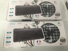 Logitech Wireless Keyboard K360 Fingerprint Flowers (French azerty layout)