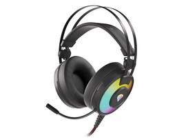 Słuchawki nauszne Genesis Neon 600 RGB Black