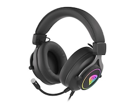 Słuchawki nauszne Genesis Neon 750 RGB z mikrofonem Black