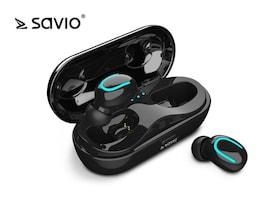 Słuchawki Z Mikrofonem Savio Tws-05 Bezprzewodowe Bluetooth