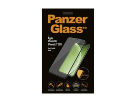 Szkło Hartowane Panzerglass Do Iphone Xr/11 Czarne Do Etui