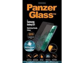 Szkło Hartowane Panzerglass Do Samsung Galaxy S21 Antybakteryjne Prywatne Czarny Do Etui