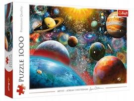 Puzzle - Kosmos - 1000 el. Multi-Colored