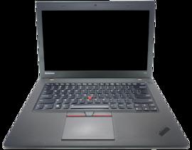 Laptop Lenovo ThinkPad T450 i5 - 4 generacji / 4GB / 240GB SSD / 14 HD+ / Klasa B