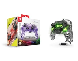 Nintendo Switch PDP Afterglow Deluxe Wired Controller Multi-Color