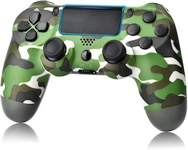 Newest PS4 Controller Dual Shock 4th Bluetooth Wireless Gamepad Joystick Remote Green camouflage