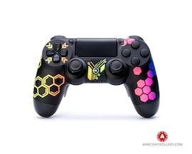 AimControllers Custom Dualshock 4 Hive with 4 Paddles.
