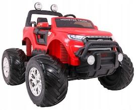 Hecht Ford Ranger Monster Truck Red Samochód Terenowy Elektryczny Akumulatorowy Auto Jeździk Pojazd
