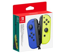 Nintendo Switch Joy-Con Wireless Controller Pair - Neon Blue/Yellow Multi-Color