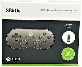 8BitDo SN30 Pro XBOX Game Pass Pad + Clip Android