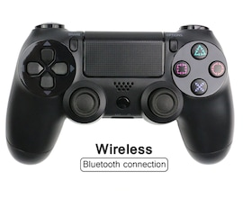 Wireless PlayStation Controller for PS4 Pro Slim and Normal - Black