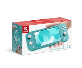Nintendo Switch Lite 32GB System Handheld Video Game Console Device Tablet AC TESTED WORKING Light Blue