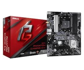 ASRock Płyta główna B550 Phantom Gaming 4/AC AM4 4DDR4 HDMI M.2 ATX