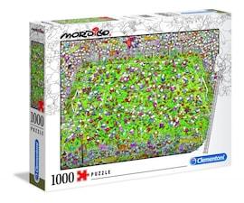 Clementoni Puzzle 1000 elementów Mordillo The Match