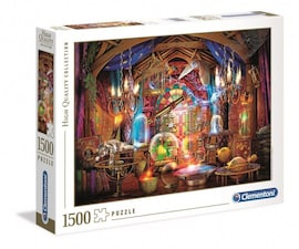 Clementoni Puzzle 1500 elementów HQ Czarodziejski warsztat