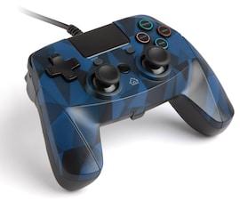 snakebyte GAME:PAD 4 S ™(PS4) przewodowy Blue
